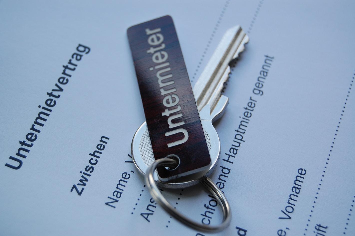 Mietrecht: Untermieten und Untervermieten – Was ist erlaubt?