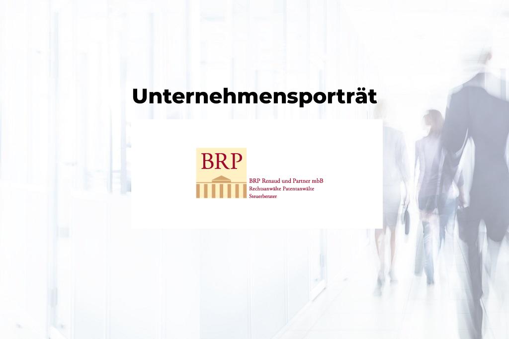 Unternehmensporträt: BRP Renaud & Partner mbB